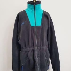 Vintage Columbia 3/4 Length Boxy Fleece Jacket - M